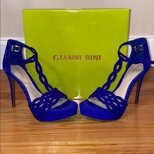 Gianni Bini-Royal Blue Heels